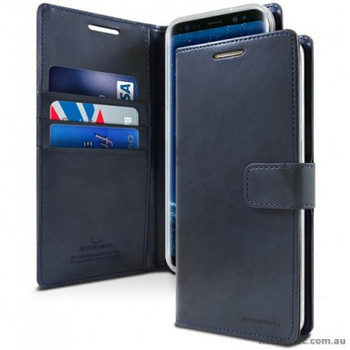 "For iPhone 12 MINI (5.4"") Bluemoon Diary Black"