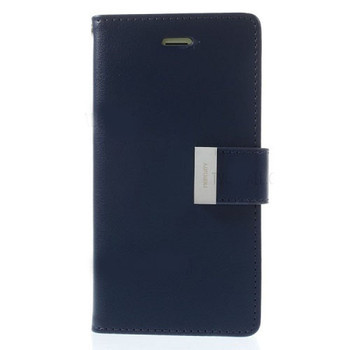 For iPhone 6 Plus / 6S Plus Rich Diary Case Blue
