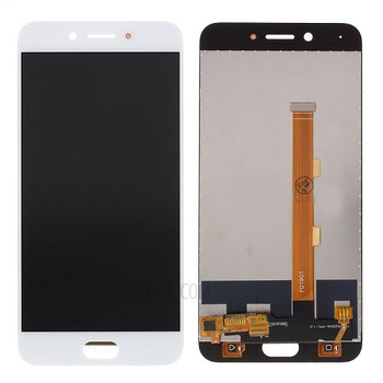 For Oppo A77 LCD and Touch Screen Assembly (White)