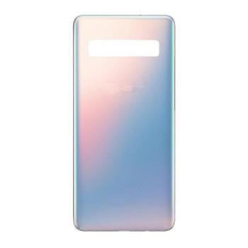 For Samsung Galaxy S10 5G Back Cover Silver (Shiny )