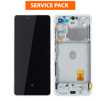 For Samsung Galaxy S20 FE Service Pack LCD and Touch Screen Assembly  (White)