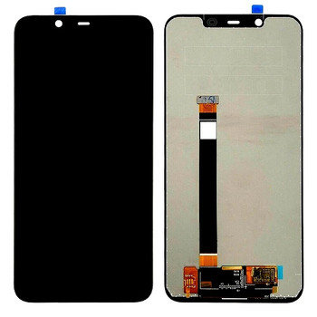 For Nokia 7.1 LCD and Touch Screen Assembly (Black)