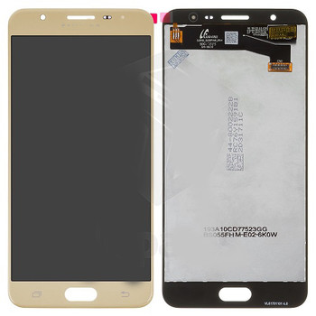For Samsung Galaxy J7 Prime/G610Y/G610F LCD and Touch Screen Assembly (Gold)