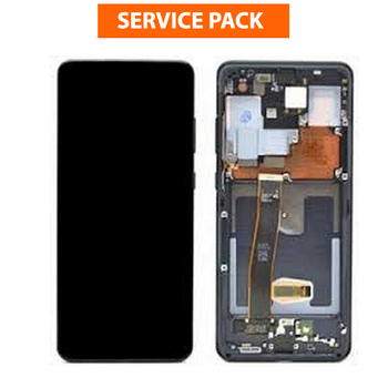 For Samsung Galaxy S21 Service Pack LCD and Touch Screen Assembly (Black)