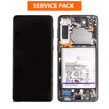 For Samsung Galaxy S21 Plus Service Pack LCD and Touch Screen Assembly  (Black)
