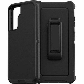 For Samsung Galaxy S21 Plus Outer Defender Case Black
