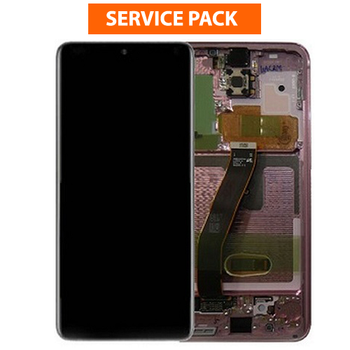 For Samsung Galaxy S20 FE Service Pack LCD and Touch Screen Assembly  (Cloud Navy)