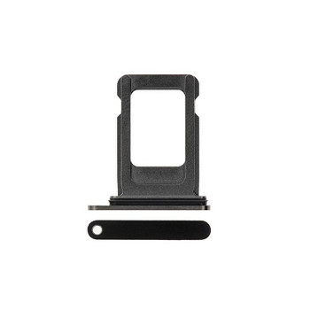 For iPhone 12 Pro Max Sim Card Tray Black