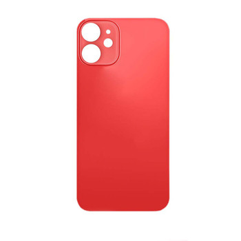 For iPhone 12 Back Cover Red