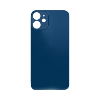 For iPhone 12 Back Cover Blue
