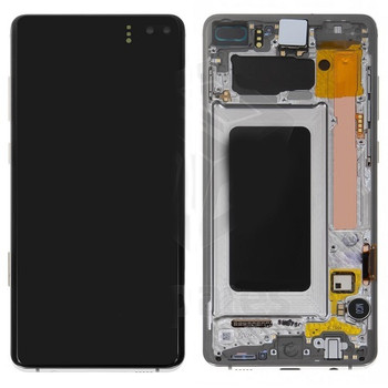 For Samsung Galaxy S10 Plus Refurb LCD and Touch Screen Assembly  (White)