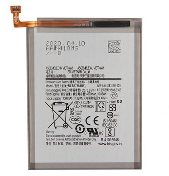 Battery For Samsung Galaxy A71 A715 Model: EB-BA715ABY