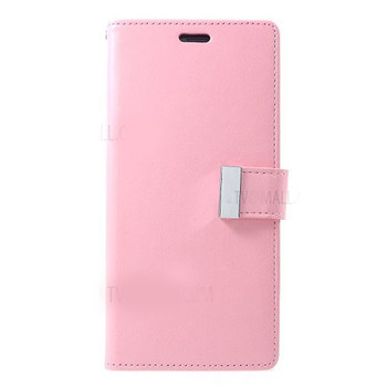 For Samsung Galaxy Note 9 Rich Diary Case Pink