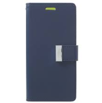 For Samsung Galaxy Note 9 Rich Diary Case Blue