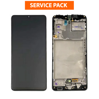 For Samsung Galaxy A42 SM-A426 Service Pack LCD and Touch Screen Assembly (Black)