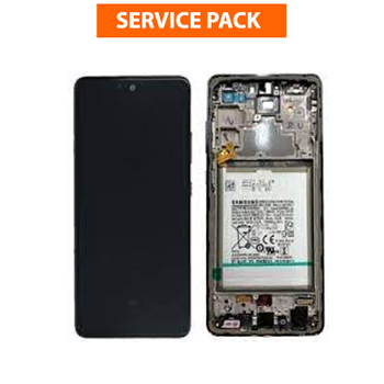 For Samsung Galaxy A52 SM-A525 SM-A526 Service Pack LCD and Touch Screen Assembly With Frame