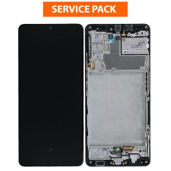 For Samsung Galaxy A42 5G SM-A426 Service Pack LCD and Touch Screen Assembly (Black)