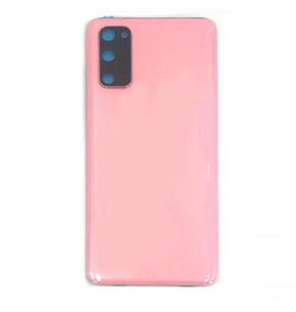 For Samsung Galaxy S20 Back Cover With Camera Lens (Pink)