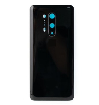 For One Plus 8 Pro Back Cover Black