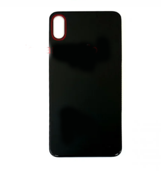For iPhone XS Max  Back Cover With Big Camera Hole (Black)