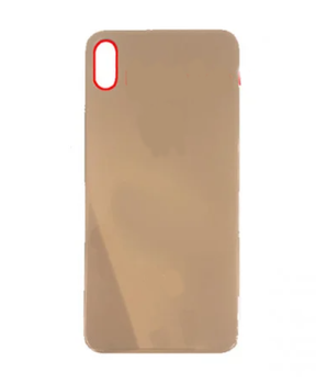 For iPhone XS Max  Back Cover With Big Camera Hole (Gold)
