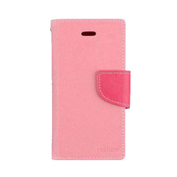 For iPhone 5/5S Mercury Fancy Diary Case Pink
