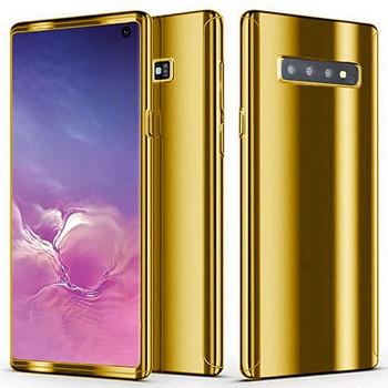 For Samsung Galaxy S10 Plus Skinny Bumper Case Gold