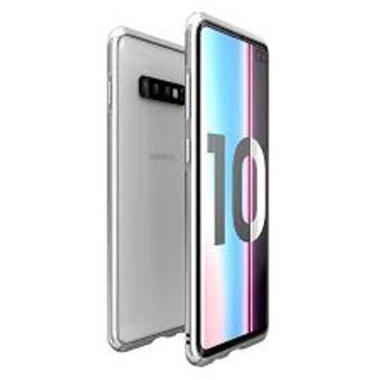 For Samsung Galaxy S10 Plus Skinny Bumper Case Silver