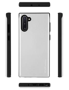 For Samsung Galaxy Note 10 Plus Sky Slide Bumper Case White