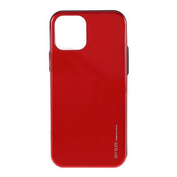For iPhone 13 Pro Max Sky Slide Bumper Case Red