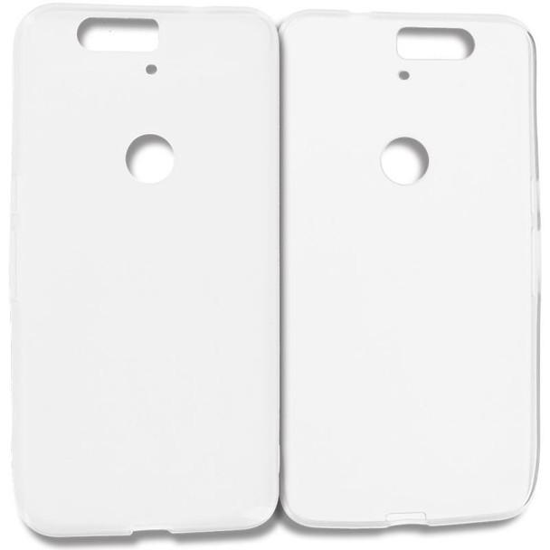For Nexus 6p Rubber Case White