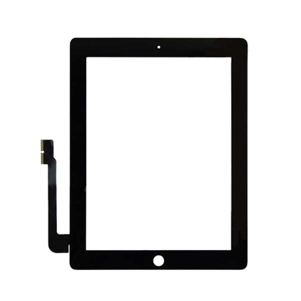 For ipad 3/4 touch Black