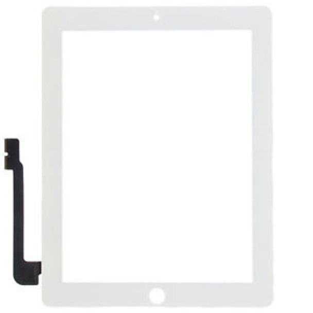 For ipad 3/4 touch White