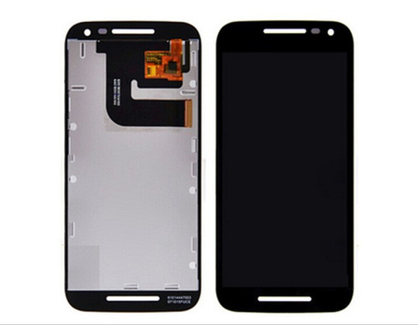 For Motorola G LCD and Touch Screen Assembly. (Black)