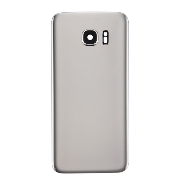 For s7 back cover silver