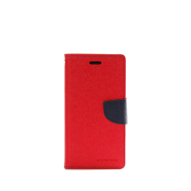 For iphone x Mercury Fancy Diary case red