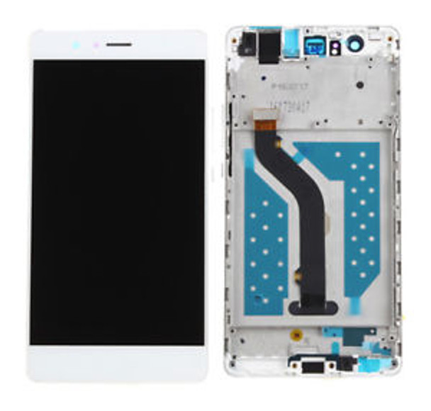 For Huawei p9 with frame LCD white
