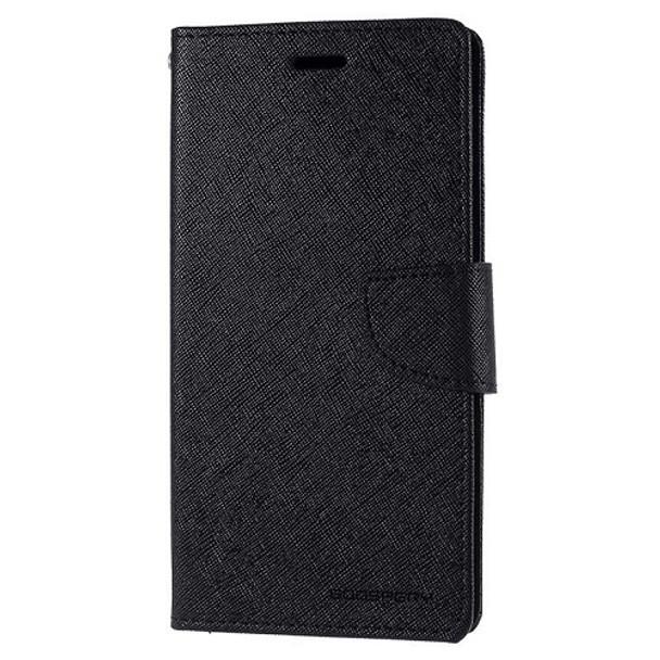 For iPhone x Mercury Fancy diary Black