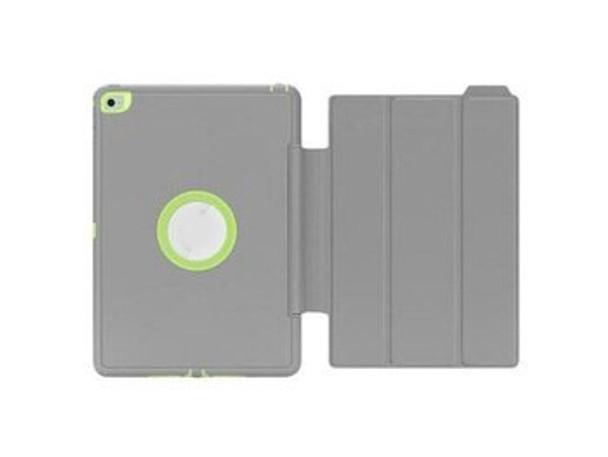 For iPad 2/3/4 Fashion Case Grey / Green