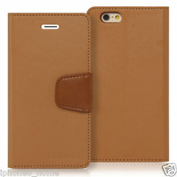 For 6/6s plus Sonata Diary case Brown