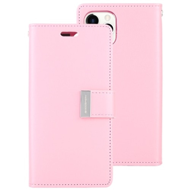 For iPhone 11 Pro Rich Diary Case Pink