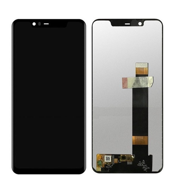 For Nokia 5.1 LCD and Touch Screen Assembly. (Black)