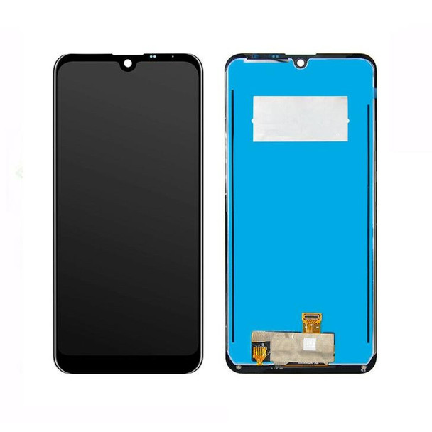 For LG Q60 LCD and Touch Screen Assembly (Black)