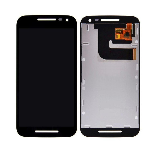For Motorola G3 LCD and Touch Screen Assembly (Black)