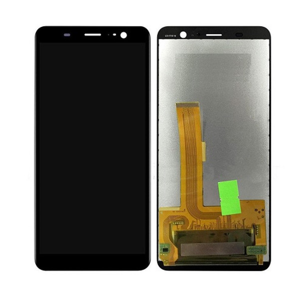 For HTC U11 Plus LCD and Touch Screen Assembly (Black)