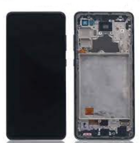 For Samsung Galaxy A72 Service Pack LCD and Touch Screen Assembly