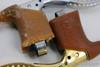 NIB/NOS Mafac Course 429 / 529 Brake Levers: Gold & Silver - Drilled