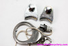 NOS 1973 Shimano Dura Ace Centerpull Brakeset: 65/47mm - Straddle Cables - Carriers - Front Cable Stop - 1st DA Part Ever! (PRISTINE)