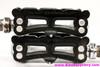 Campagnolo Record SL Pista / Track Pedals: 1038/A - Superleggari Black Cages