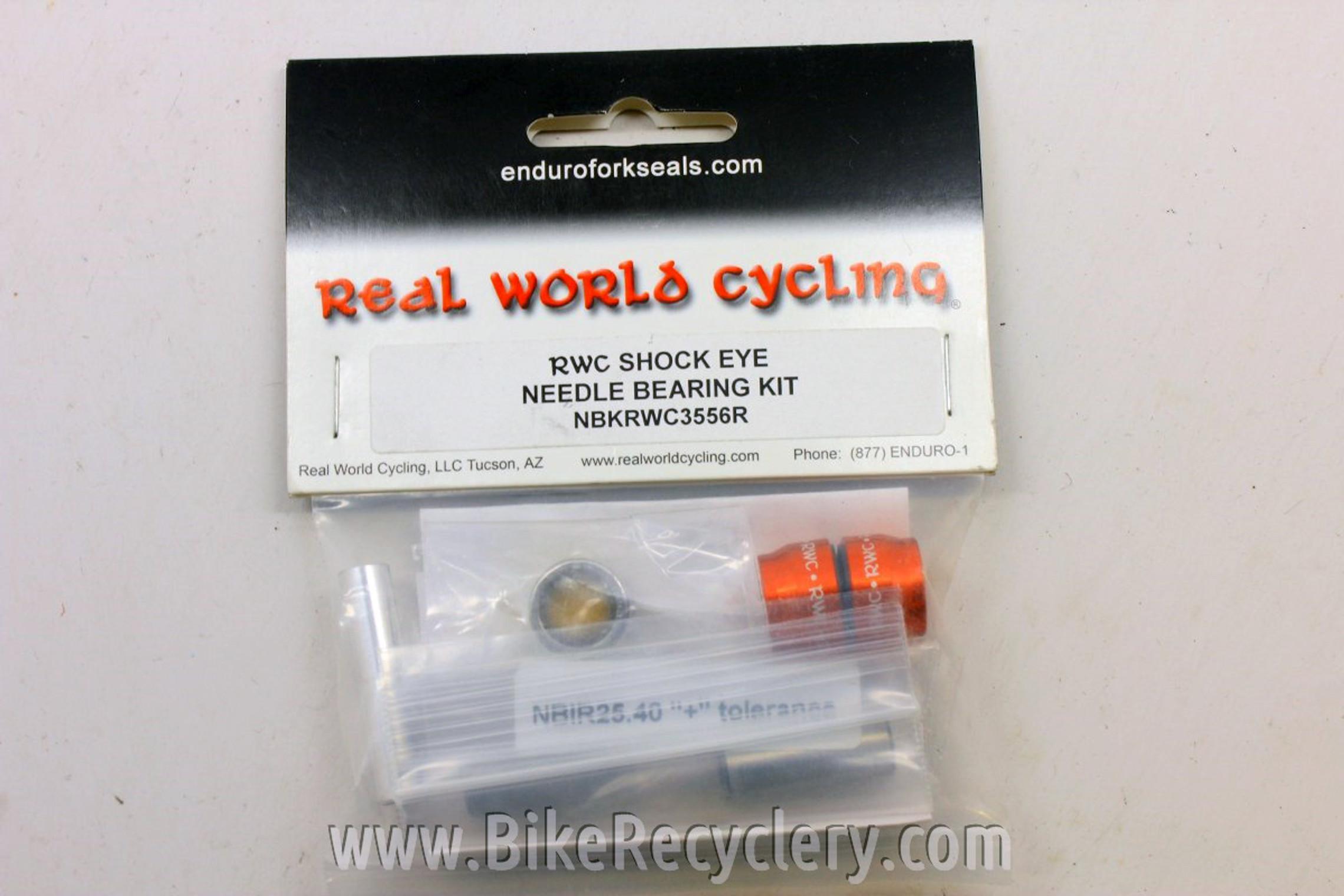Real World Cycling Shock Eye Needle Bearing Kit: 19.05mm, 22mm, 30mm, 35.56mm